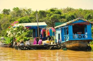 aldeia flutuante