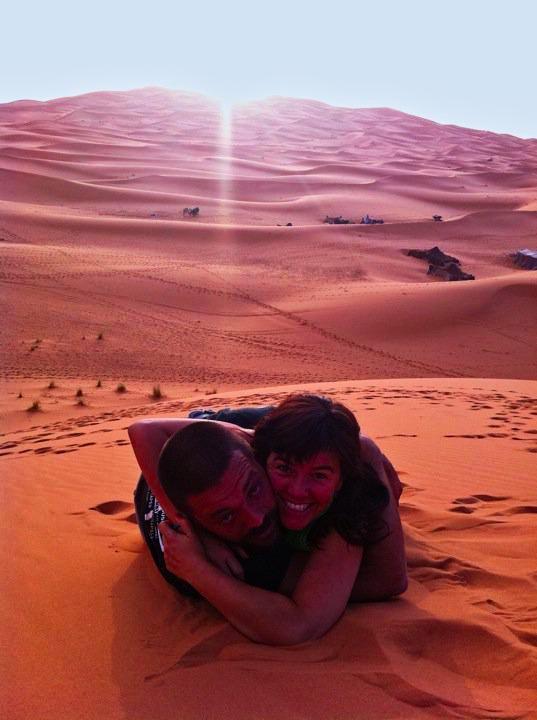 nós em marrocos