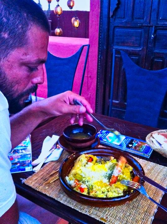 pedro e cousous marrocos