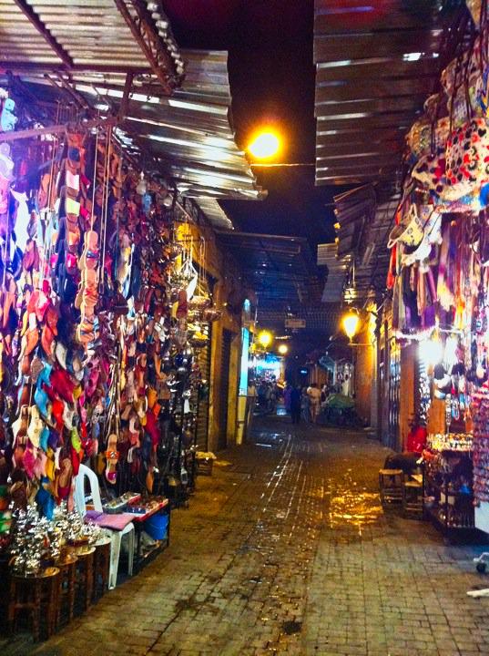 souk marrocos